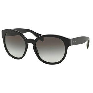 Prada Sunglasses Black w/Grey
